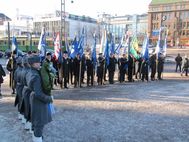 Veteraani- ja maanpuolustusjärjestöjen lippulinna
