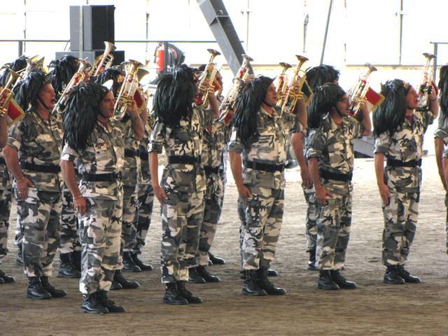 Italian armeijan fanfaariryhmä