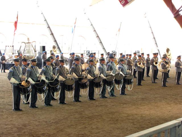 Puolustusvoimien varusmiessoittokunnan rumpuryhmä