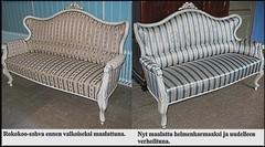 Rokokoo- sohva