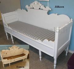 Sivustavedettävä sänky