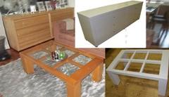 Maalatut huonekalut