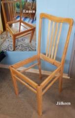 Lakattu tuoli (koivu)