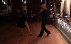 Tanssinopettajan oma esitys