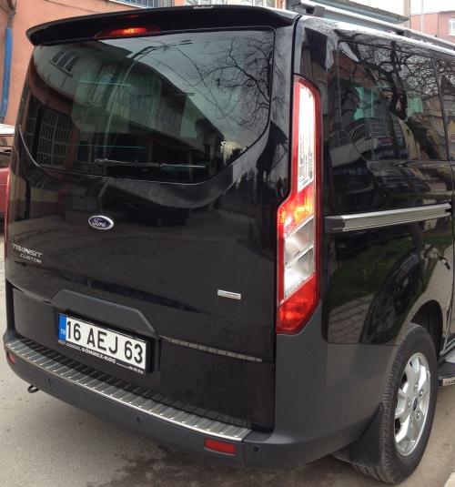 63 Ford Transit Custom 2 2tdci Swb: Takaspoileri Transit Custom