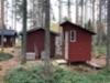 Kompostikäymälä. Rakennettu 2020.