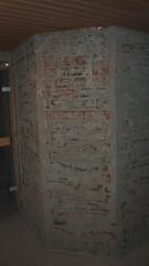 Seinät jyrsittynä ennen tasoitusta