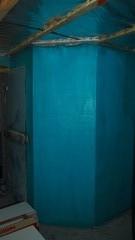 Seinä vesieristetty