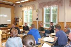 Höytiän Koululla jätevesi-info 21.8.2019