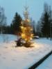 Jouluvalot syttyivät kyläkeskukseen 5.12.2020