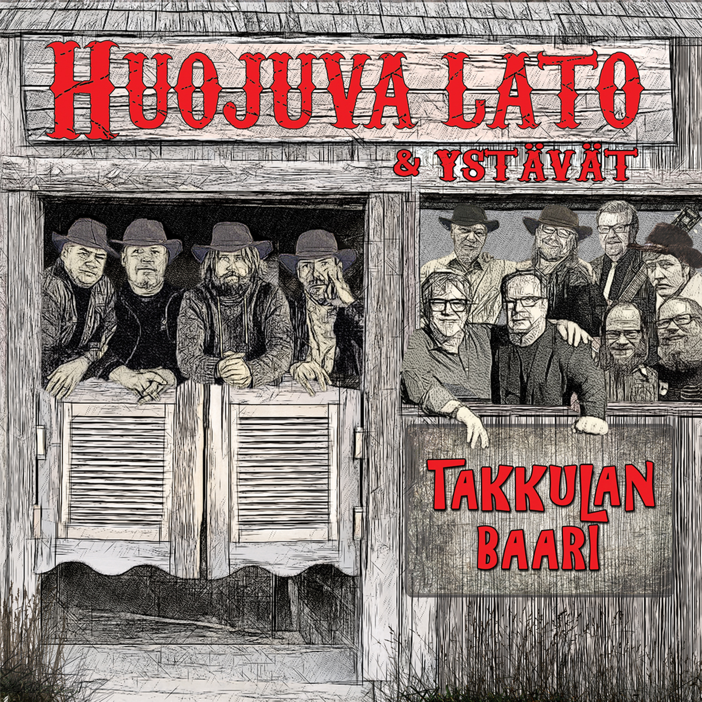 Huojuva lato & ystävät - Takkulan baari