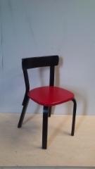 Aalto tuoli 69_punamusta