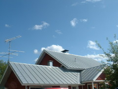 konesaumattu katto