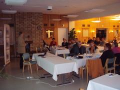 kokoomuksen koulutustilaisuus mets�pirtill� 18.9.08