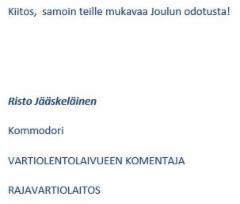 vartiolentolaivue_2019_joulutervehdys