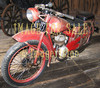 for sale old red motorbike