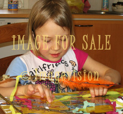 for sale child making easter decorations