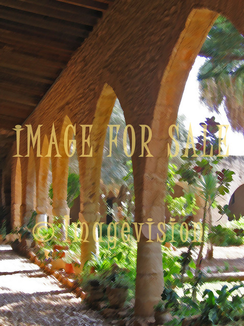 for sale old monastery yard pilars in cyprus_ brushed