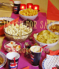 for sale children party food with popcorn and chips
