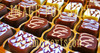 for sale brown and white chocolates_twisted