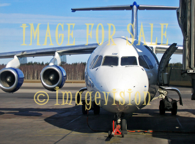 for sale aeroplane in maintenance at airport