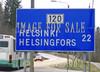 for sale traffic sign helsinki helsingfors