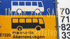 for sale traffic sign two busses