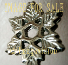 for sale silver flake with six branches