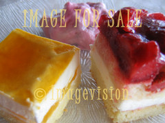 for sale delicious and colourful cakes