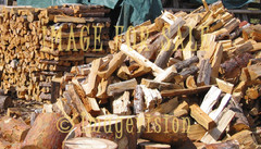 for sale piles of chopped wood