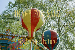 for sale merry balloons and green leaves