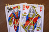 for sale playing cards couple
