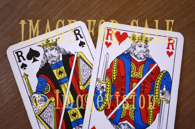 for sale playing cards kings