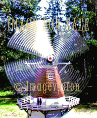 for sale rotating windmill_posterised