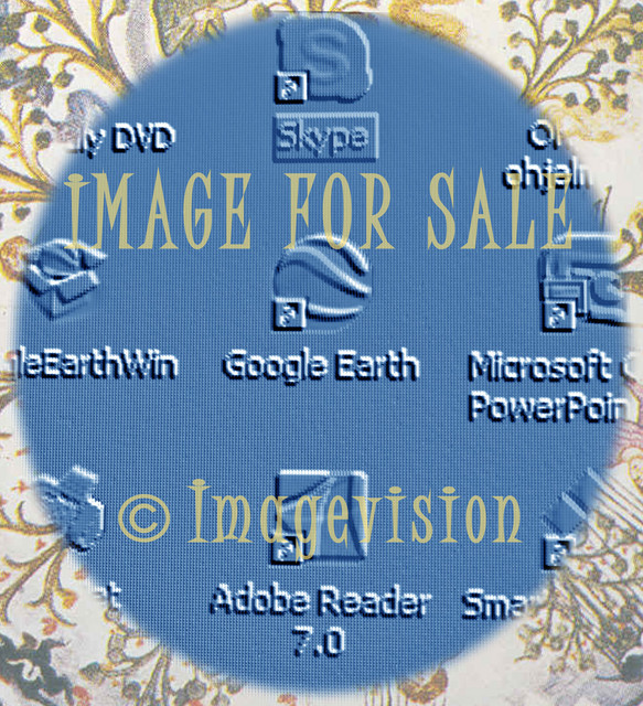 for sale desktop icons with nature patterns
