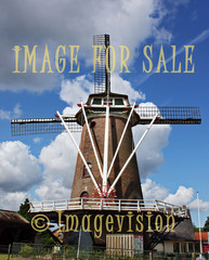for sale dutch windmill in garderen