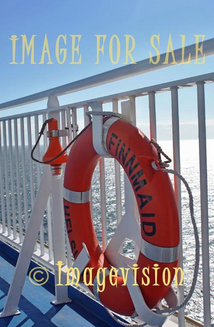 for sale life belt on deck