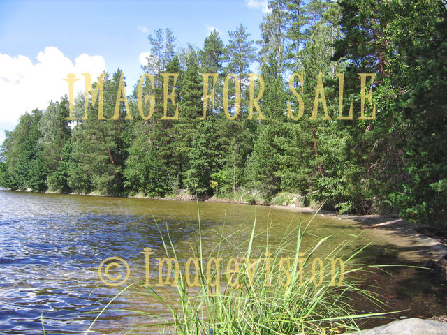 for sale sand beach in the finnish lake district