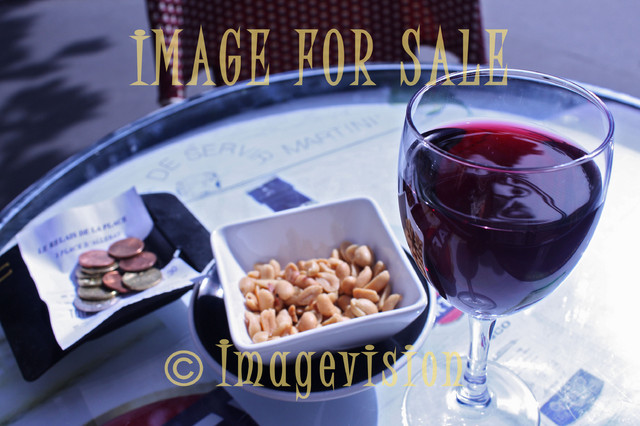 for sale glass of wine with french style