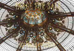 for sale ceiling glass ornament of lafayette