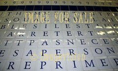 for sale alphabet on tiles