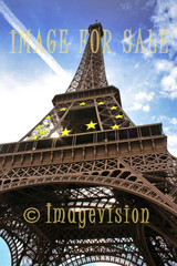 for sale eiffel and 12 eu stars