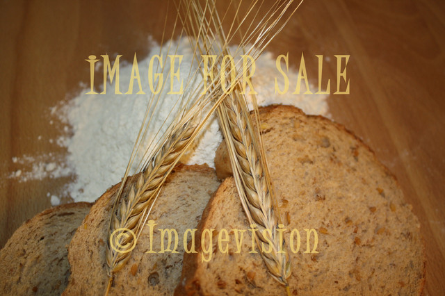 for sale grain flower and bread