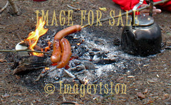for sale campfire coffee and sausages