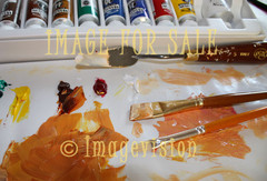 for sale brushes and painting materials
