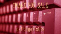 for sale keyboard in red
