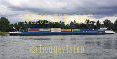 for sale containers moving on rhine