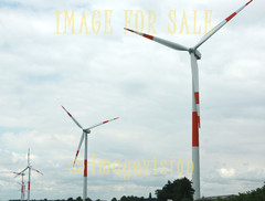 for sale row of wind energy mills
