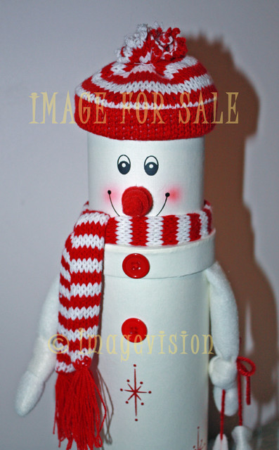 for sale snowman with scarf and hat