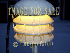 for sale ice dripping from lamp